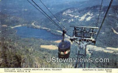 Echo Lake  - Franconia Notch, New Hampshire NH Postcard