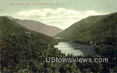 Echo Lake & Profile House - Franconia Notch, New Hampshire NH Postcard