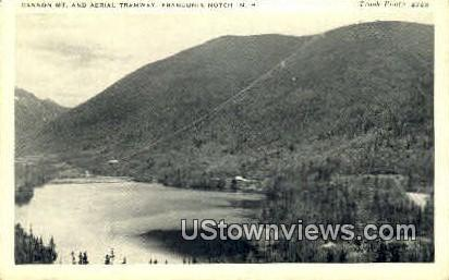 Cannon Mt. & Aerial Tramway - Franconia Notch, New Hampshire NH Postcard
