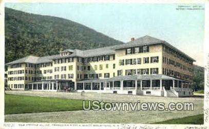New Profile House - Franconia Notch, New Hampshire NH Postcard