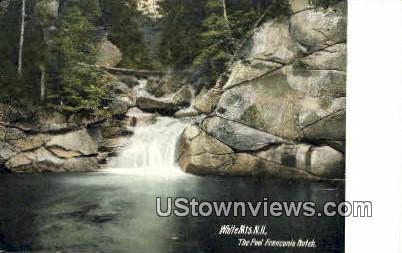 The Pool - Franconia Notch, New Hampshire NH Postcard