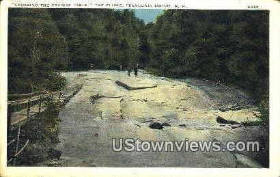 The Granite Table - Franconia Notch, New Hampshire NH Postcard