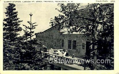 Summit Station - Franconia Notch, New Hampshire NH Postcard