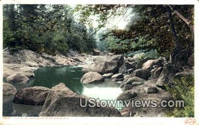 Glen Ellis Jackson - White Mountains, New Hampshire NH Postcard