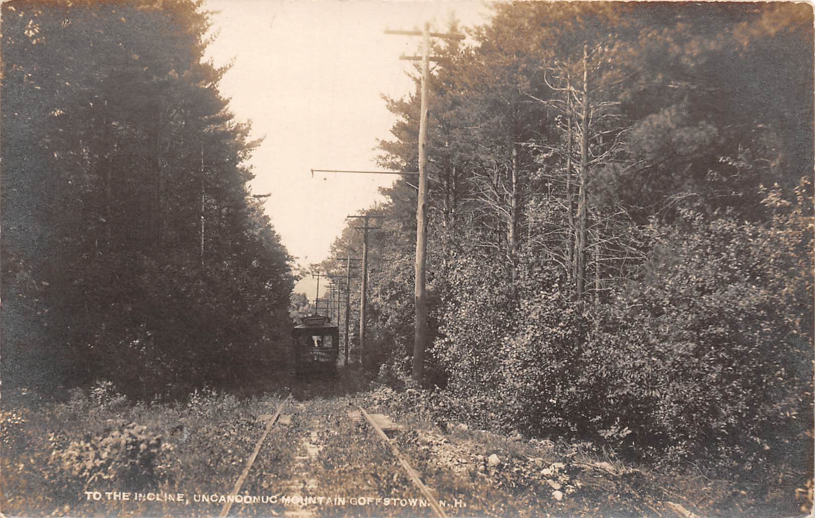 Incline - Goffstown, New Hampshire NH Postcard