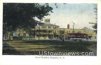 Hotel Whittier - Hampton, New Hampshire NH Postcard