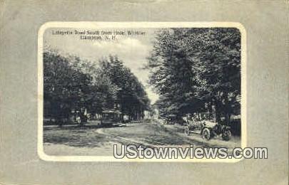 Lafayette Road - Hampton, New Hampshire NH Postcard
