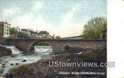 New Stone Bridge - Hillsboro Bridge, New Hampshire NH Postcard