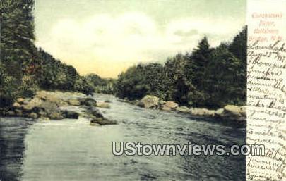 Contoocook River - Hillsboro Bridge, New Hampshire NH Postcard