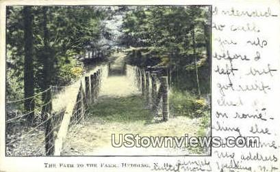 The Path to the Farm - Hedding, New Hampshire NH Postcard