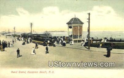 Band Stand - Hampton Beach, New Hampshire NH Postcard