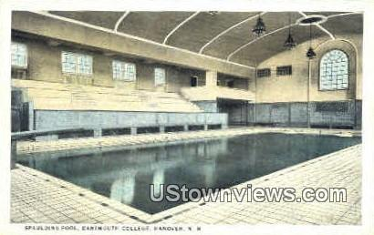 Spaulding Pool, Darmouth College - Hanover, New Hampshire NH Postcard