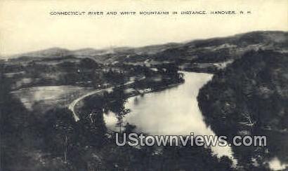 Connecticut River - Hanover, New Hampshire NH Postcard