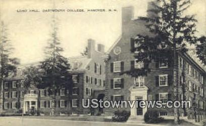 Lord Hall, Dartmouth College - Hanover, New Hampshire NH Postcard