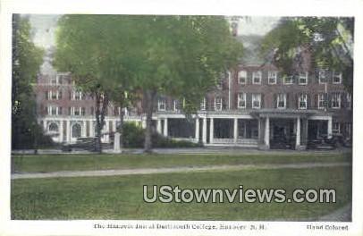 The Hanover Inn, Dartmouth College - New Hampshire NH Postcard