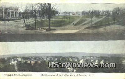 Campus - Hanover, New Hampshire NH Postcard