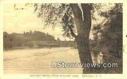 Ledyard Bridge - Hanover, New Hampshire NH Postcard