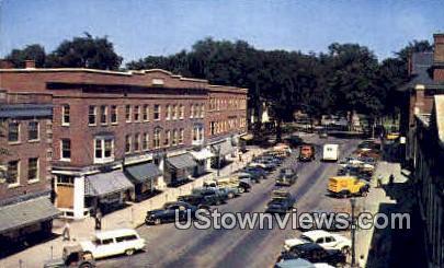 Main St. - Hanover, New Hampshire NH Postcard