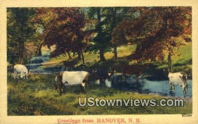 Greetings From - Hanover, New Hampshire NH Postcard
