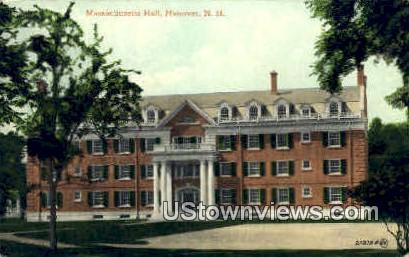 Massachusetts Hall - Hanover, New Hampshire NH Postcard