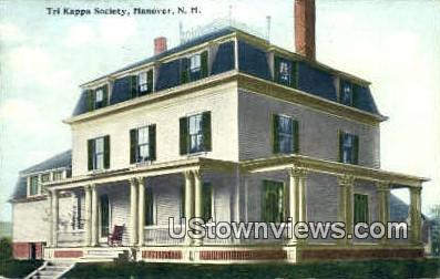 Tri Kappa Society - Hanover, New Hampshire NH Postcard
