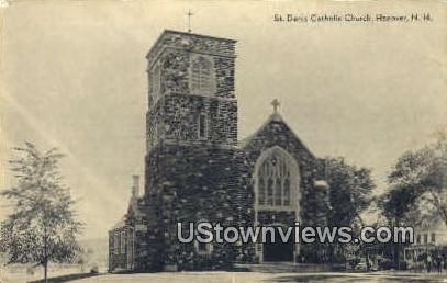 St. Denic Catholic Church - Hanover, New Hampshire NH Postcard