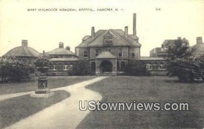 Mary Hitchcock Memorial Hospital - Hanover, New Hampshire NH Postcard