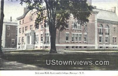 Robinson Hall, Dartmouth College - Hanover, New Hampshire NH Postcard
