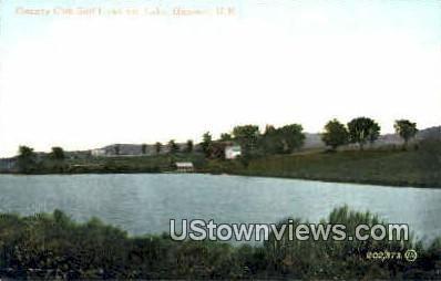 Country Club Golf Links & Lake - Hanover, New Hampshire NH Postcard
