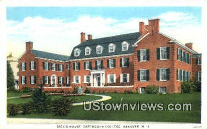 Dick's House, Dartmouth College - Hanover, New Hampshire NH Postcard