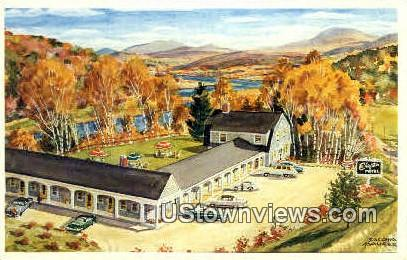 Chieftain Motel - Hanover, New Hampshire NH Postcard