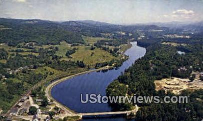 Ledyard Bridge & Connecticut River - Hanover, New Hampshire NH Postcard