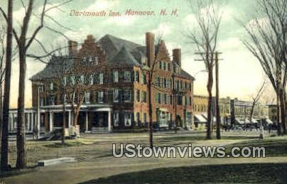 Dartmouth Inn - Hanover, New Hampshire NH Postcard