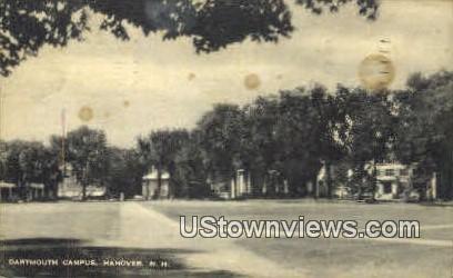 Dartmouth Campus - Hanover, New Hampshire NH Postcard