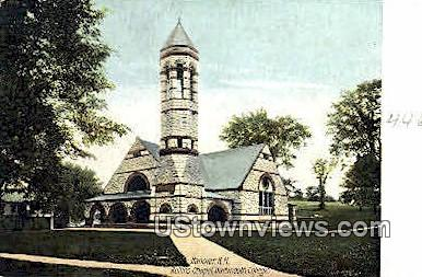 Rollins Chapel, Dartmouth College - Hanover, New Hampshire NH Postcard