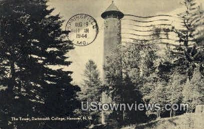 The Tower, Dartmouth College - Hanover, New Hampshire NH Postcard