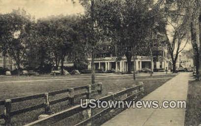Senior Fence, Dartmouth College - Hanover, New Hampshire NH Postcard
