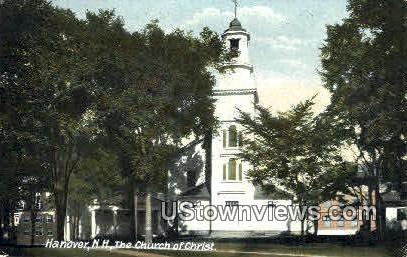 The Church of Christ - Hanover, New Hampshire NH Postcard