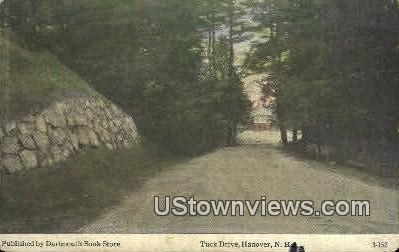 Tuck Drive - Hanover, New Hampshire NH Postcard