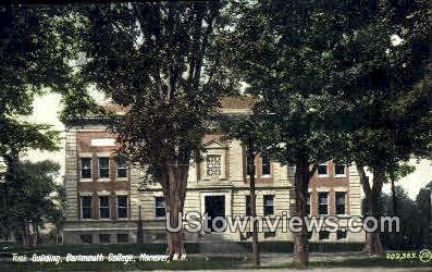 Tuck Building, Dartmouth College - Hanover, New Hampshire NH Postcard