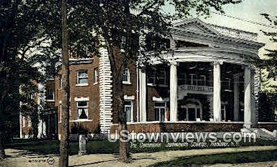 The Commons, Dartmouth College - Hanover, New Hampshire NH Postcard
