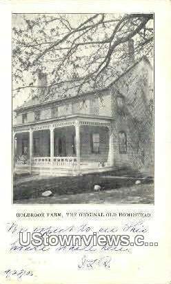 Holbrook Farm - Hanover, New Hampshire NH Postcard