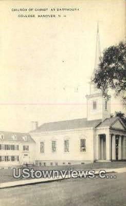 Church of Christ, Dartmouth College - Hanover, New Hampshire NH Postcard