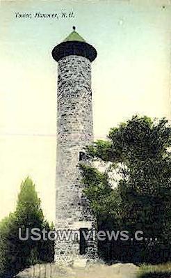 Tower - Hanover, New Hampshire NH Postcard
