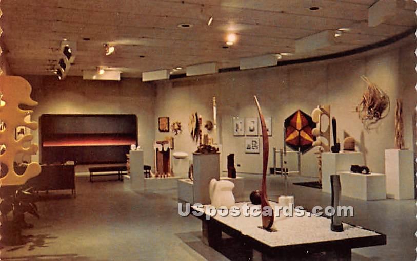 Jaffe Friede Gallery at Hopkins Center at Dartmouth College - Hanover, New Hampshire NH Postcard
