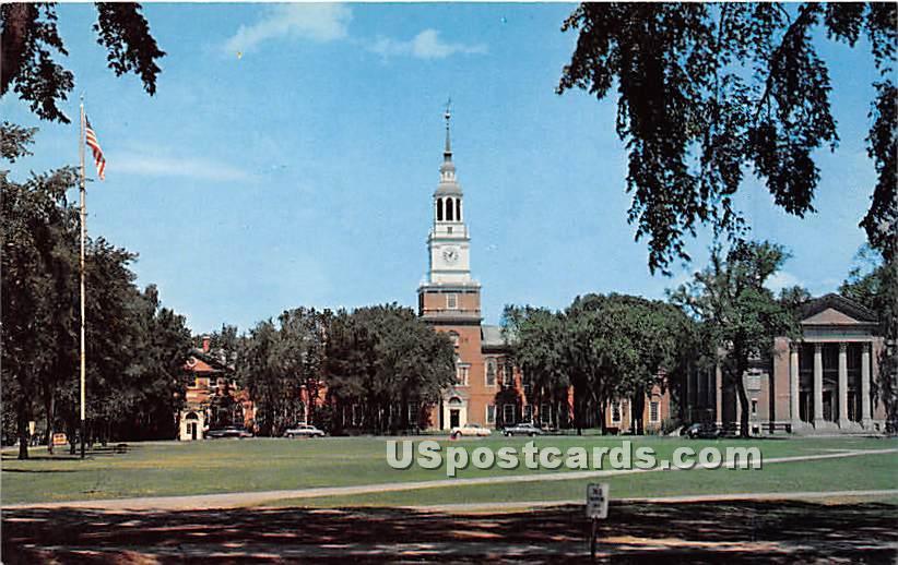 Baker Memorial Library at Dartmouth College - Hanover, New Hampshire NH Postcard