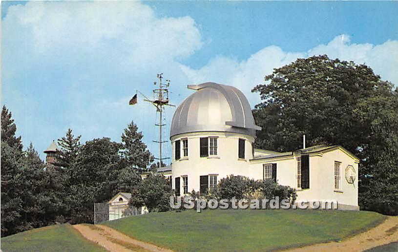 Shattuck Observatory at Dartmouth College - Hanover, New Hampshire NH Postcard