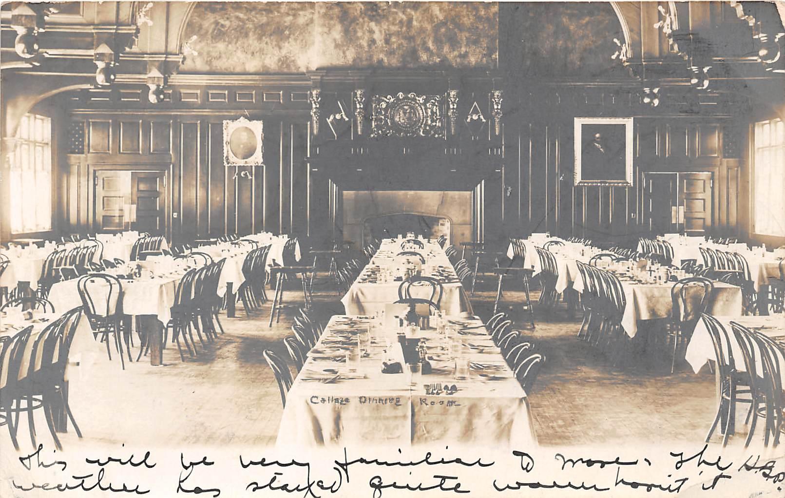 Callaze Dining Room - Hanover, New Hampshire NH Postcard