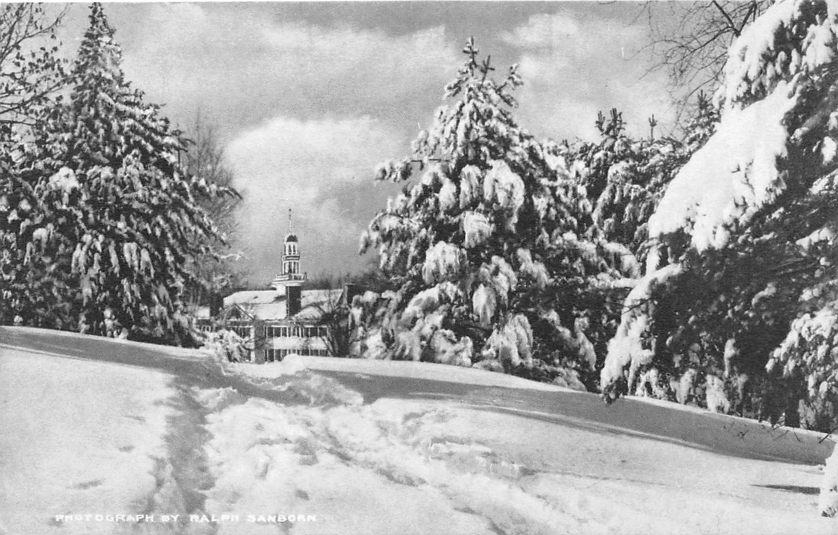 Dartmouth Hall - Hanover, New Hampshire NH Postcard