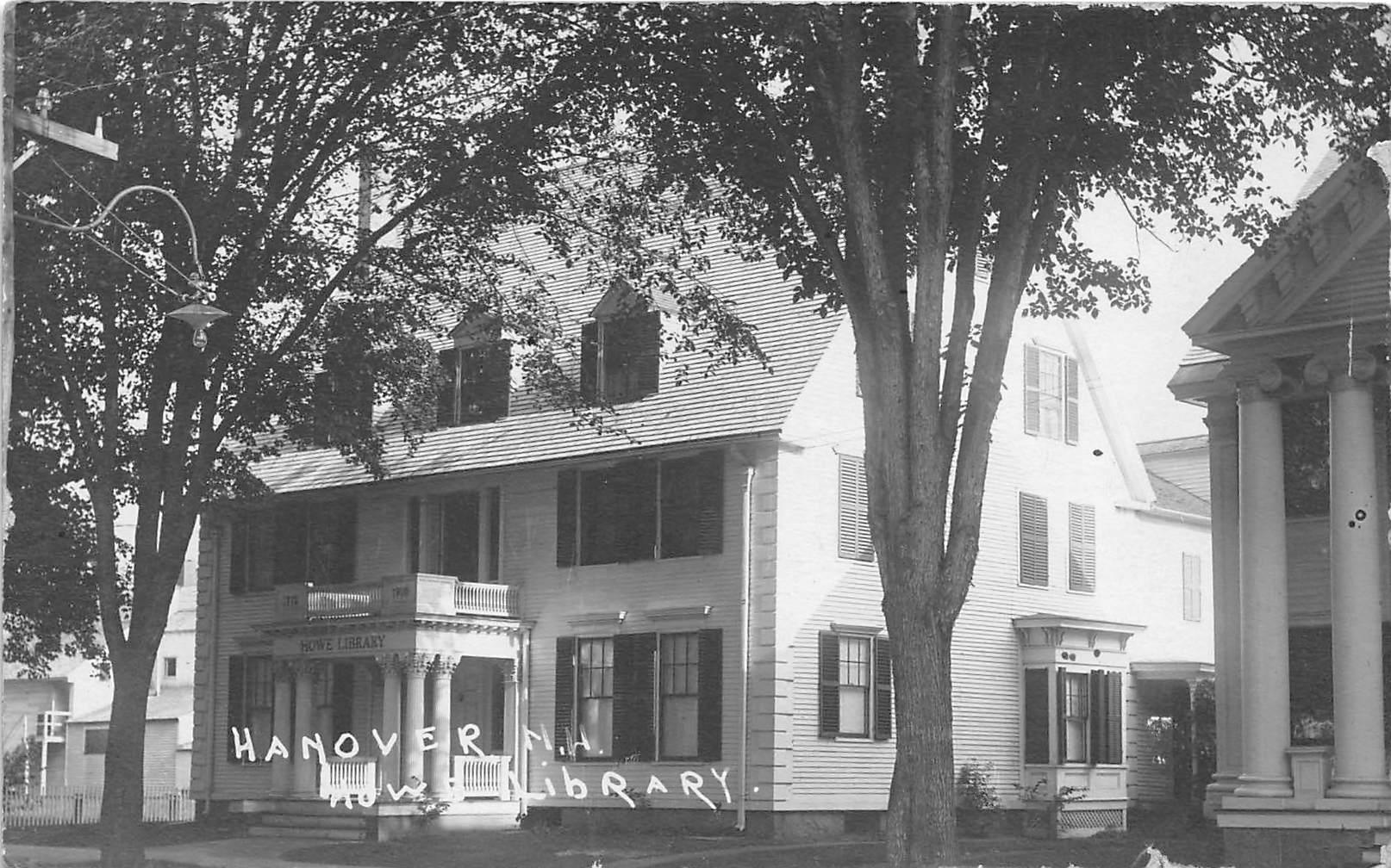 Library - Hanover, New Hampshire NH Postcard